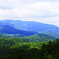 Great Smoky Mountains Print by Christi Kraft