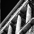 Greek Columns Print by John Rizzuto