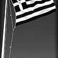 Greek Flag by John Rizzuto