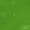 Green Abstract by Frank Tschakert