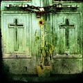 Green Doors by Gothicolors Donna
