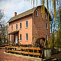 Grist Mill In Deep River County Park by Paul Velgos