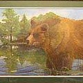 Grizzly by Rick Huotari
