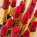 Group Of Red Lipsticks by Garry Gay