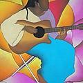 Guitar Player by Sonya Walker