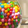 Gumball Machine Print by Artist and Photographer Laura Wrede