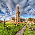 Gwyddelwern Church by Adrian Evans