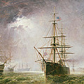 Half Mast High 19th Century by  Robert  Dudley