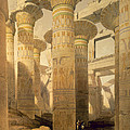 Hall Of Columns, Karnak, From Egypt by David Roberts