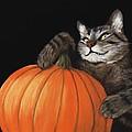 Halloween Cat by Anastasiya Malakhova