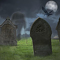 Halloween Graveyard by Amanda And Christopher Elwell