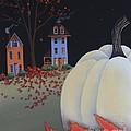 Halloween On Pumpkin Hill by Catherine Holman