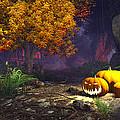 Halloween Pumpkins by Marina Likholat