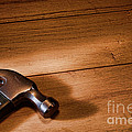 Hammer On Wood by Olivier Le Queinec