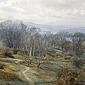 Hampstead Heath Looking Towards Harrow On The Hill by Edith Martineau