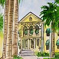 Hanford - California Sketchbook Project by Irina Sztukowski