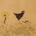 Happy Chicken by Jon Simmons