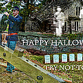 Happy Halloween-try Not To Scream by EricaMaxine  Price
