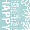 Happy Things Blue by Linda Woods