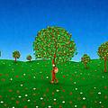 Happy Walking Tree by Gianfranco Weiss