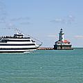 Harbor Light Chicago by Christine Till