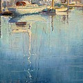 Harbor Reflection by Sharon Weaver