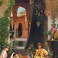 Harem Women Print by Jean Joseph Benjamin Constant