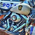 Harleys In Cincinnati 2 by Mel Steinhauer