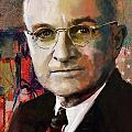 Harry S. Truman by Corporate Art Task Force