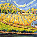 Harvest St Germain Quebec Print by Patricia Eyre