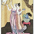Have You Had A Good Dinner Jacquot? by Georges Barbier