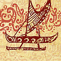 Hawaiian Canoe by William Depaula