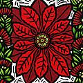 Hawaiian Christmas Joy Print by Lisa Greig