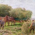 Haymaking by Arthur Hopkins