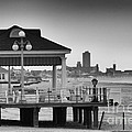 Hdr Beach Boardwalk Photos Pictures Art Sea Ocean Photograph Scenic Landscape Black White by Pictures HDR