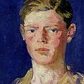 Head Of A Young Man by Francis Campbell Boileau Cadell