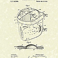 Head Protector 1914 Patent Art by Prior Art Design