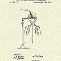 Head Washer 1887 Patent Art by Prior Art Design