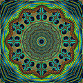 Healing Mandala 19 by Bell And Todd