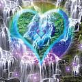 Heart Of Waterfalls by Alixandra Mullins