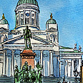 Helsinki Finland by Irina Sztukowski