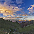 Hemis Sunset by Aaron S Bedell