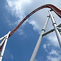 Hershey Park - Storm Runner Roller Coaster - 12123 by DC Photographer
