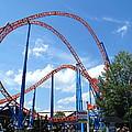 Hershey Park - Storm Runner Roller Coaster - 12125 by DC Photographer