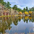 Hiawatha Lake Panorama by Baywest Imaging