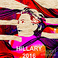 Hillary Clinton 2016 by Marvin Blaine