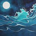 Hina I Ka Malama Drum by Lynne Baur