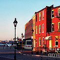 Historic Fells Point by Thomas R Fletcher