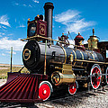 Historic Steam Locomotive - Promontory Point Print by Gary Whitton