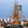 Hms Warrior Portsmouth by Terri Waters